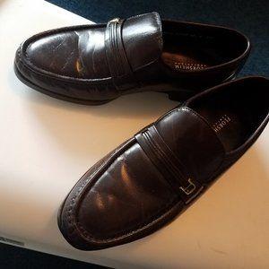Florsheim Men's Riva Slip-On Brown Dress Shoes